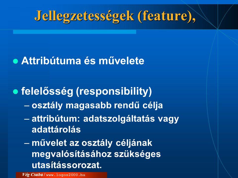 Jellegzetességek (feature),