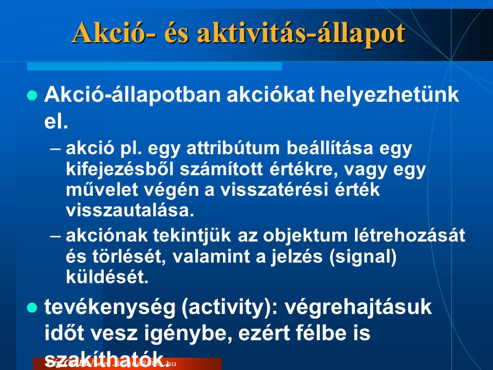 Akció- és aktivitás-állapot