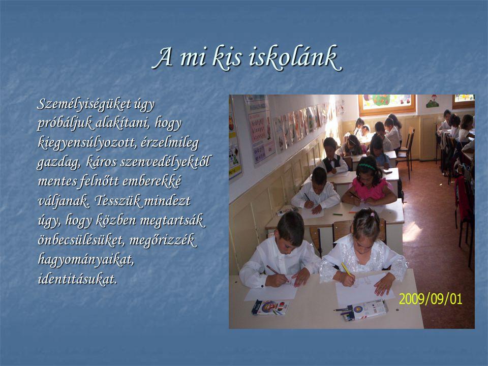 A mi kis iskolánk