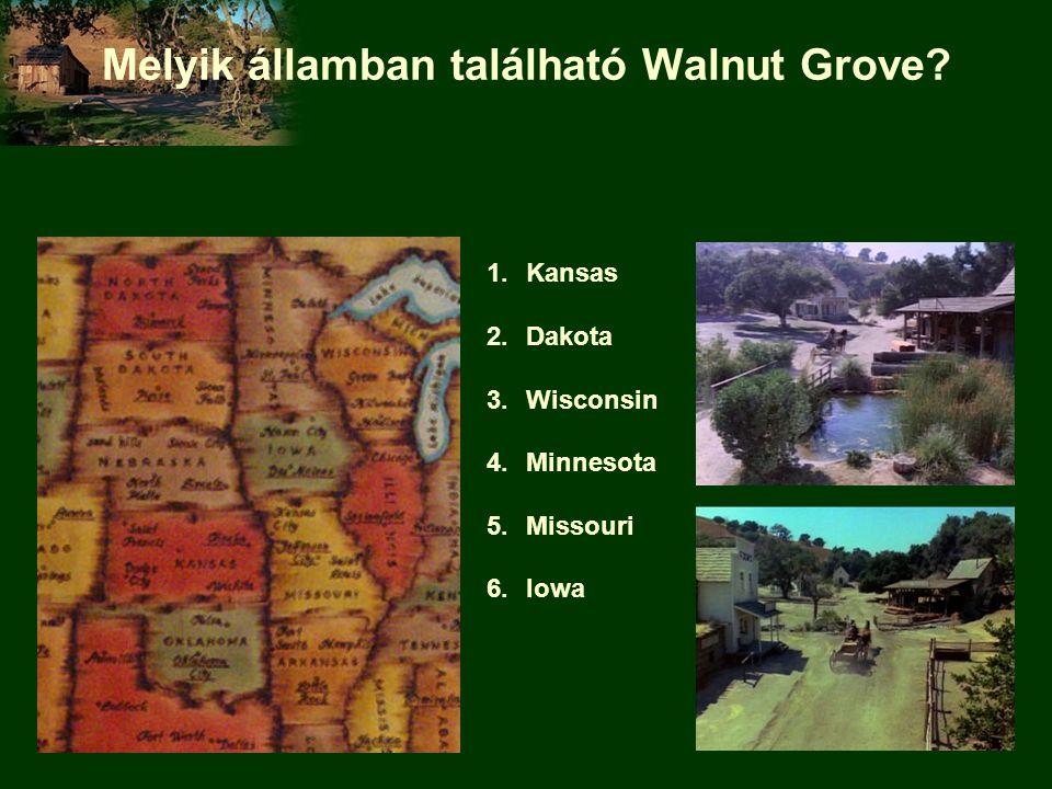 Melyik államban található Walnut Grove