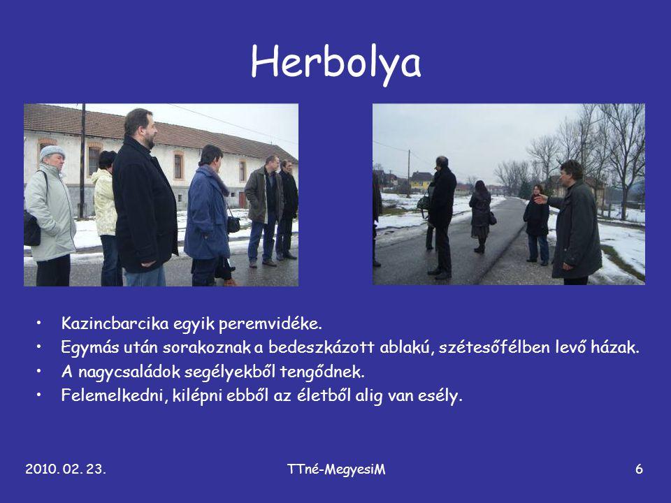 Herbolya Kazincbarcika egyik peremvidéke.