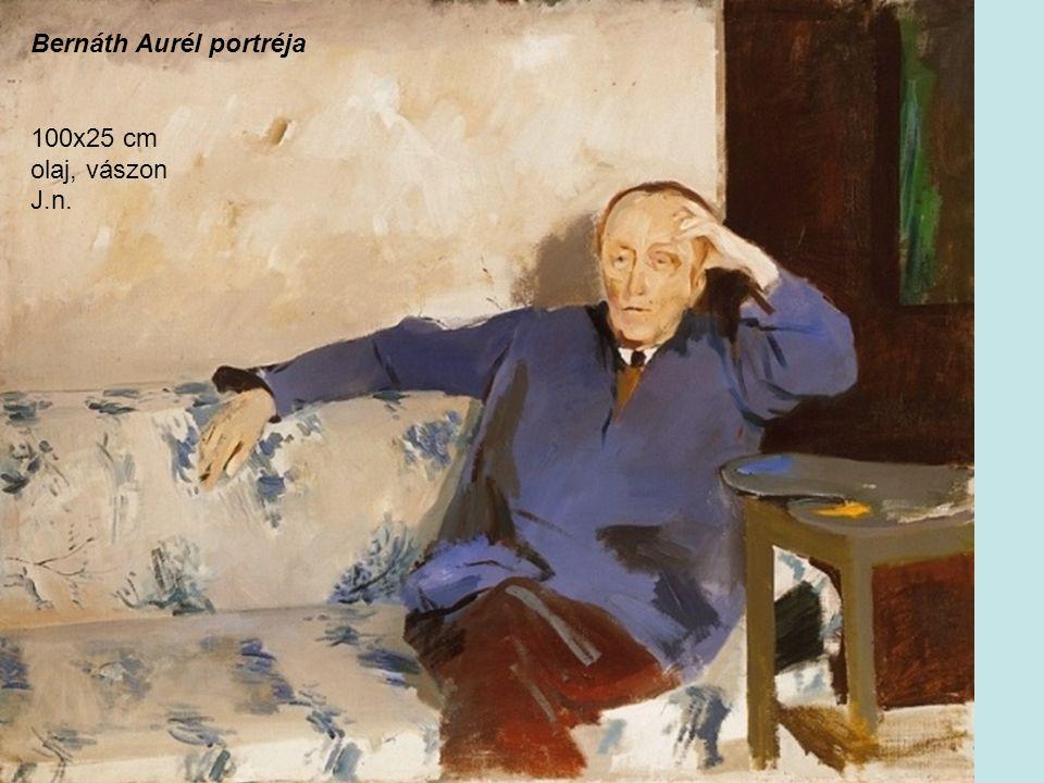 Bernáth Aurél portréja