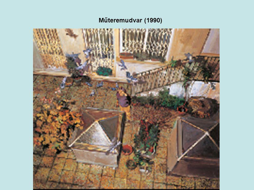 Műteremudvar (1990)
