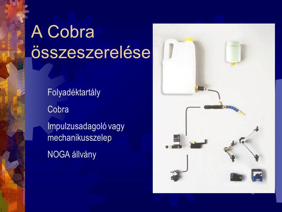 A Cobra összeszerelése
