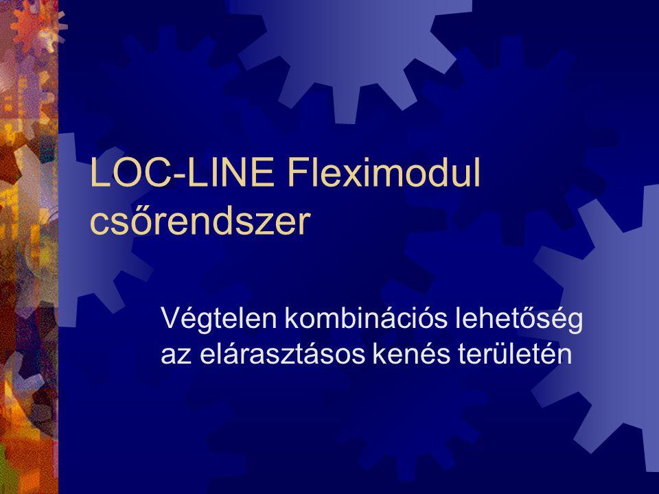 LOC-LINE Fleximodul csőrendszer