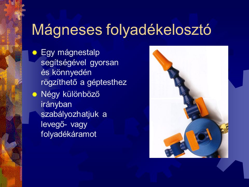 Mágneses folyadékelosztó