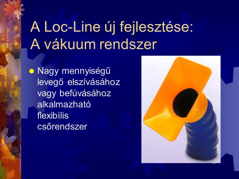A Loc-Line új fejlesztése: A vákuum rendszer