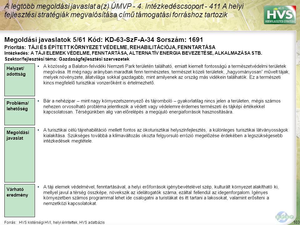 Megoldási javaslatok 5/61 Kód: KD-63-SzF-A-34 Sorszám: 1691
