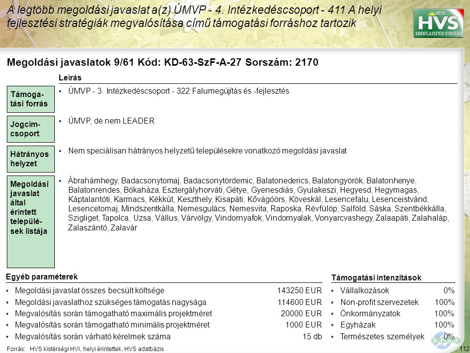 Megoldási javaslatok 10/61 Kód: KD-63-SzF-A-36 Sorszám: 1815