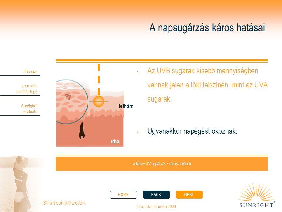 A napsugárzás káros hatásai