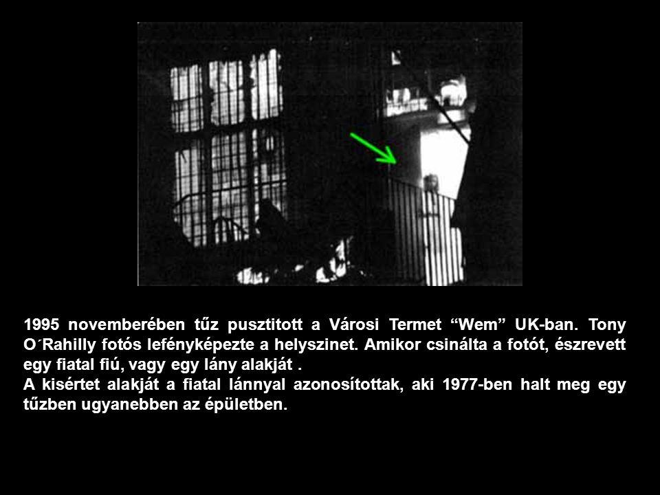 1995 novemberében tűz pusztitott a Városi Termet Wem UK-ban