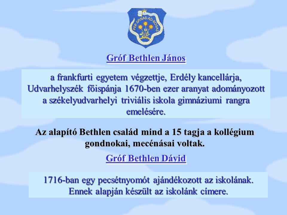Gróf Bethlen János