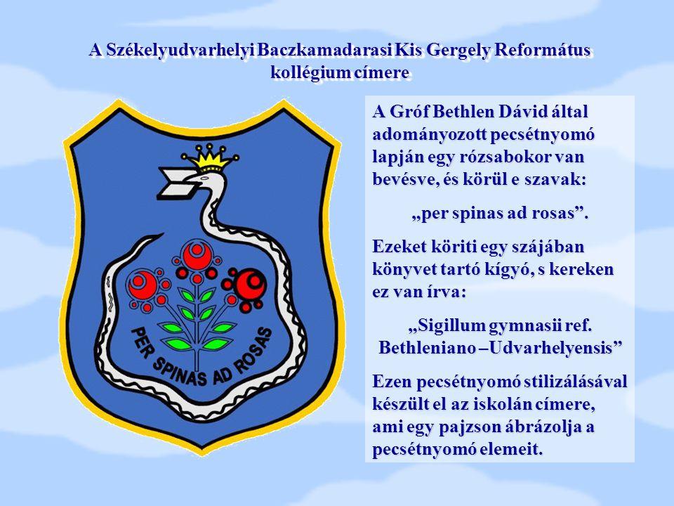 """Sigillum gymnasii ref. Bethleniano –Udvarhelyensis"
