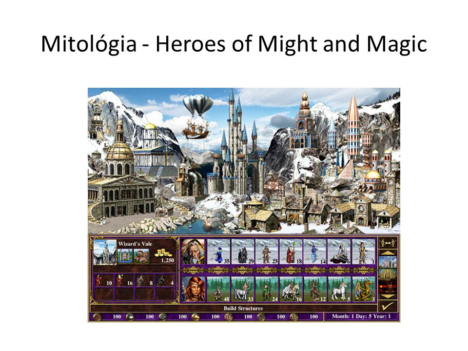 Mitológia - Heroes of Might and Magic