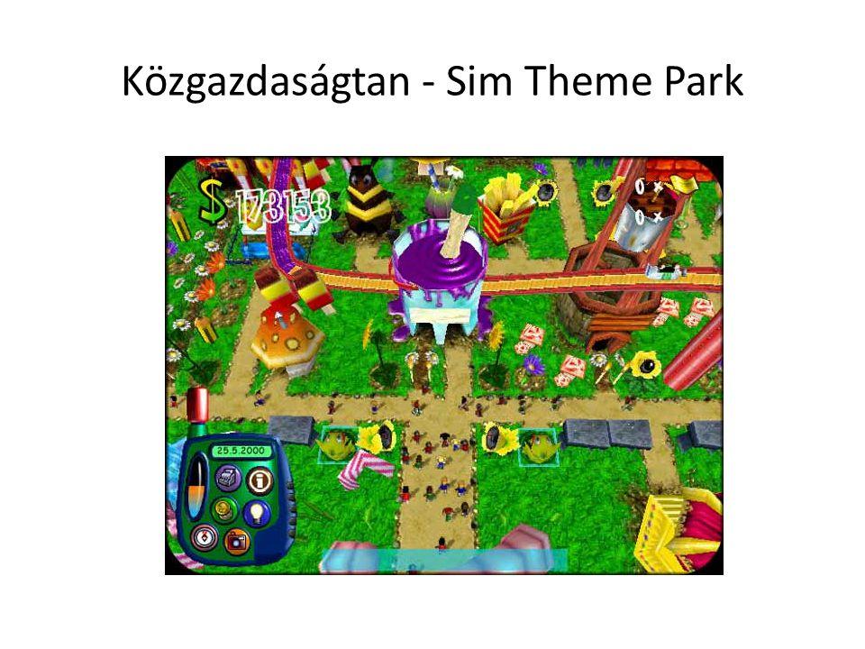 Közgazdaságtan - Sim Theme Park