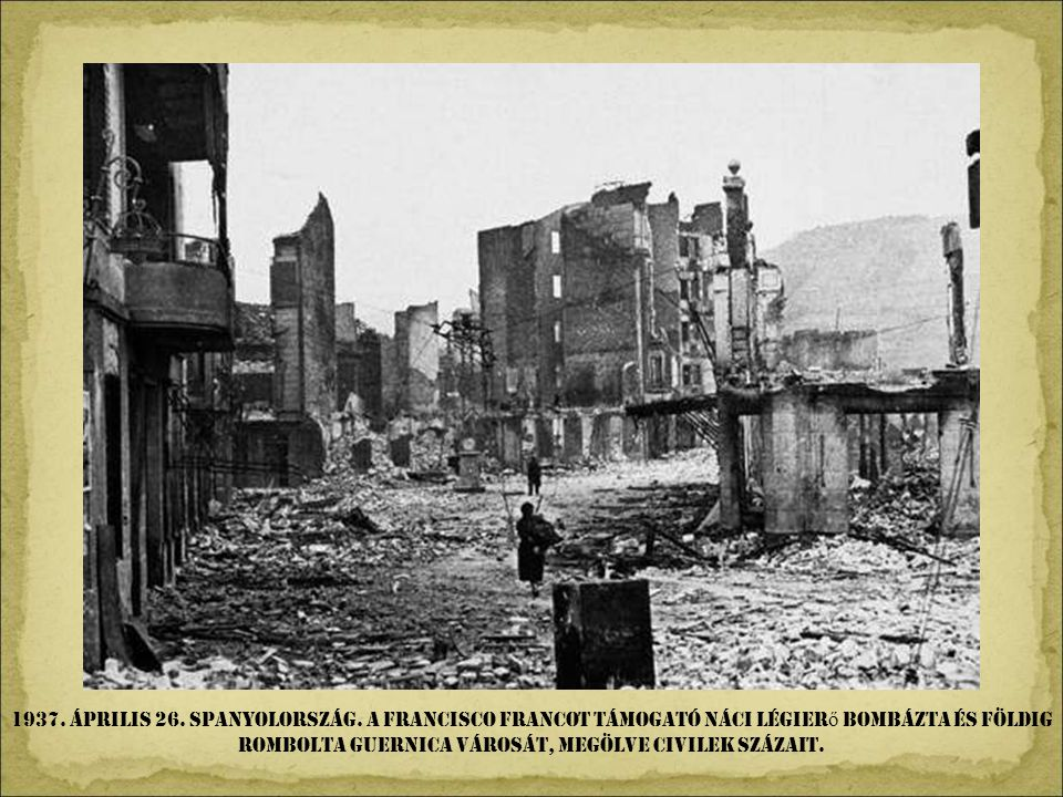 1937. április 26. Spanyolország