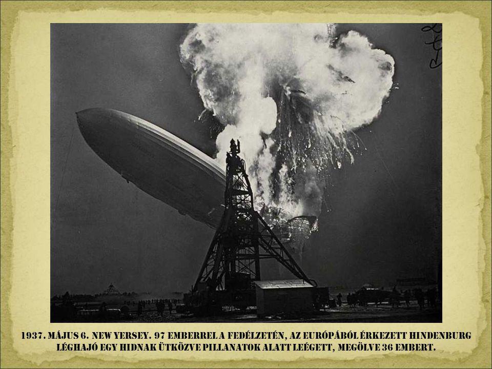 1937. Május 6. NEW YERSEY.