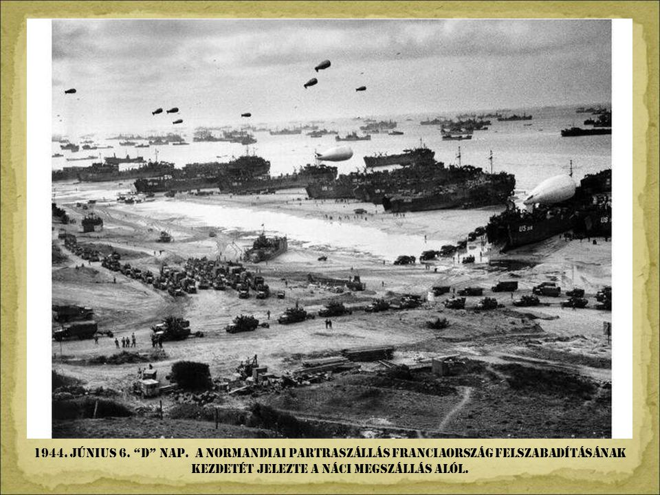1944. JÚNIus 6. d NAP.