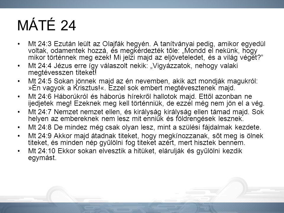 MÁTÉ 24