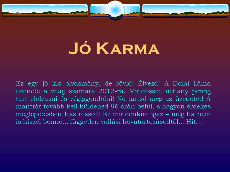 Jó Karma