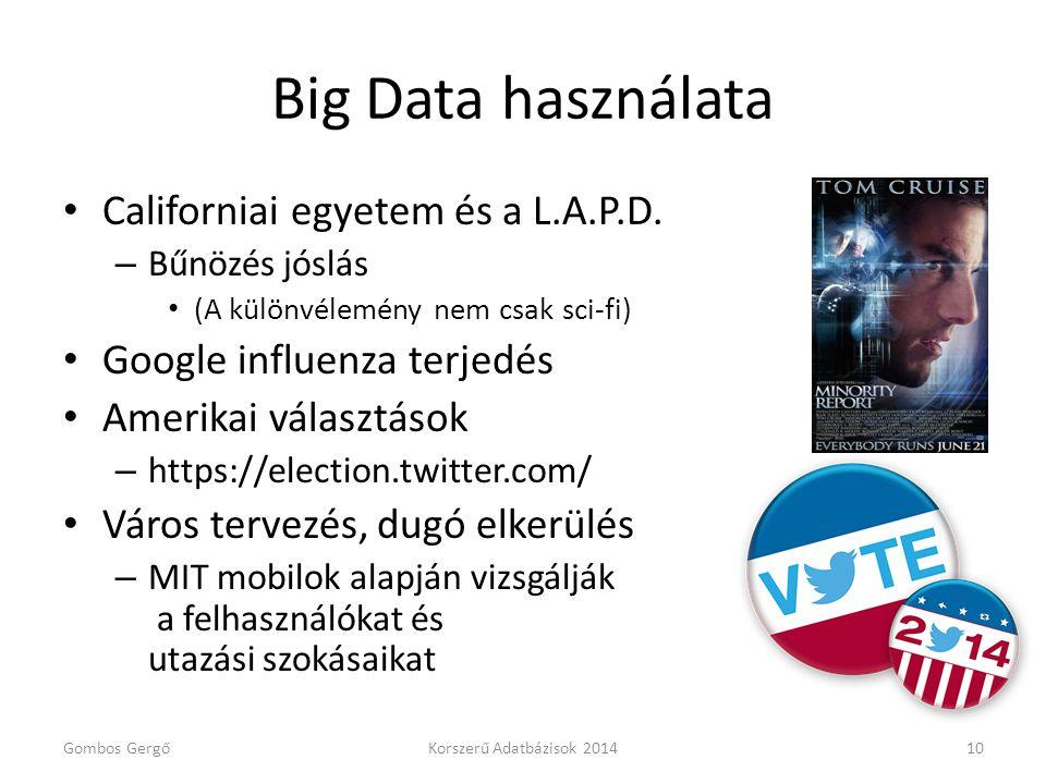 Big Data használata Californiai egyetem és a L.A.P.D.