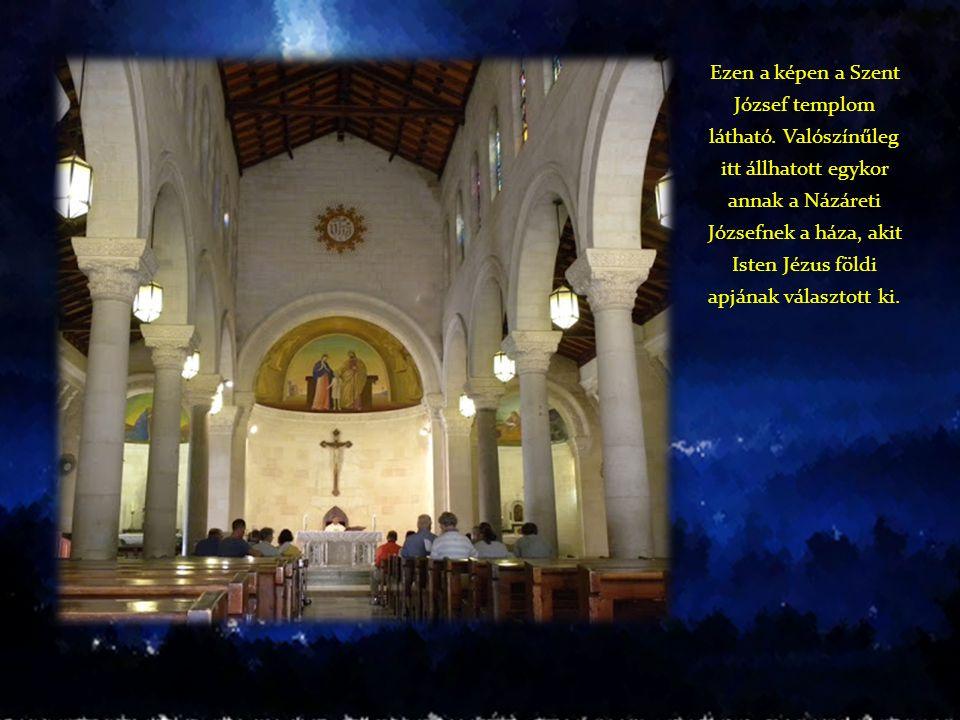 Ezen a képen a Szent József templom látható