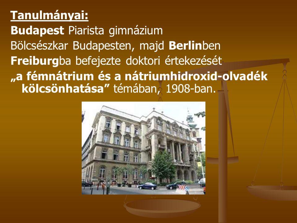 Tanulmányai: Budapest Piarista gimnázium. Bölcsészkar Budapesten, majd Berlinben. Freiburgba befejezte doktori értekezését.