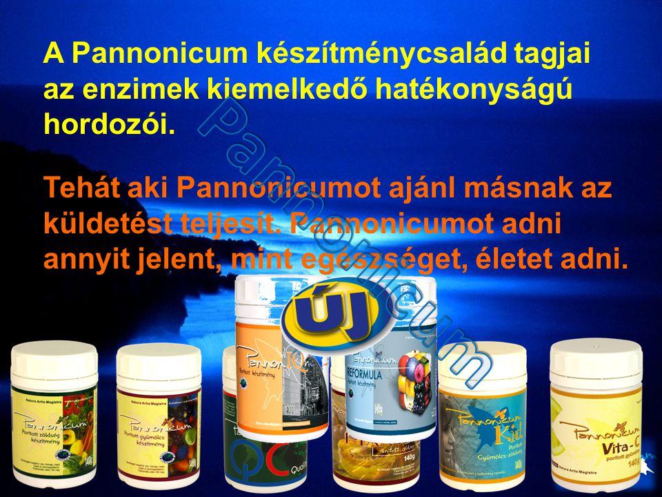 A Pannonicum készítménycsalád tagjai az enzimek kiemelkedő hatékonyságú hordozói.