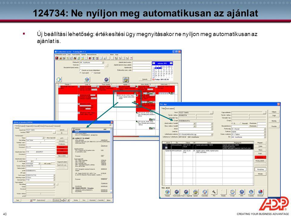 124734: Ne nyíljon meg automatikusan az ajánlat