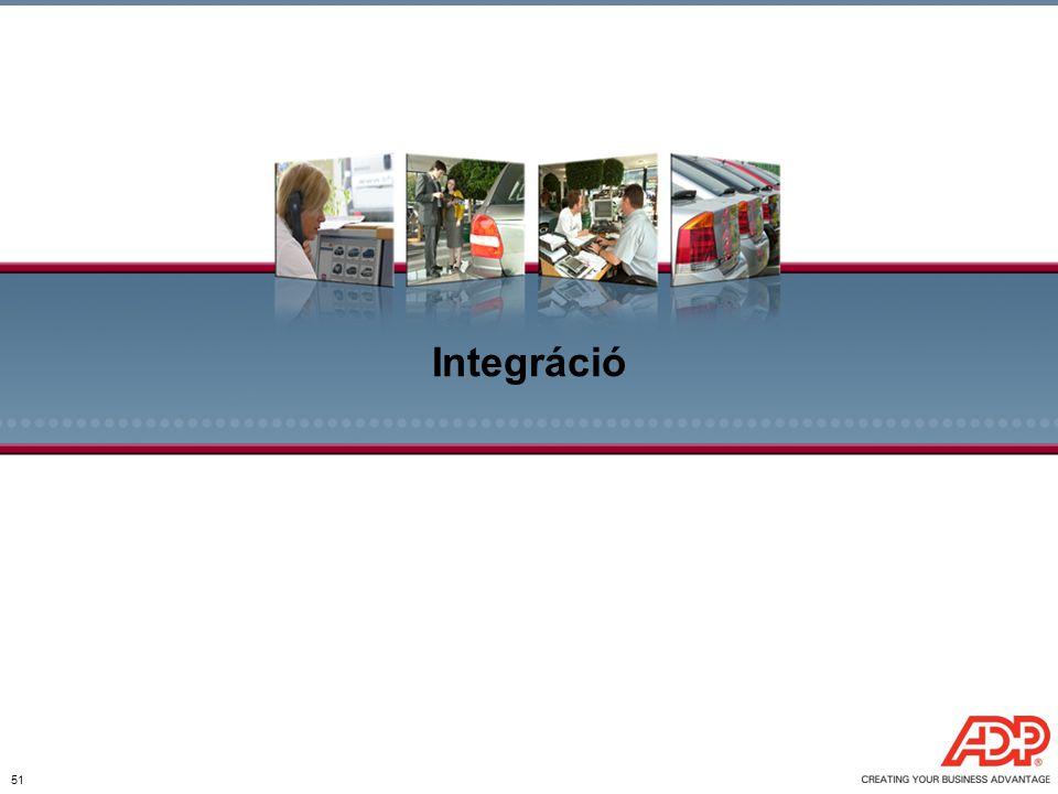 Integráció 51