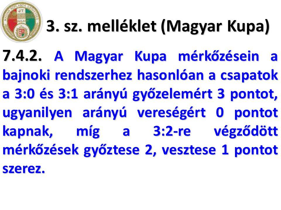 3. sz. melléklet (Magyar Kupa)