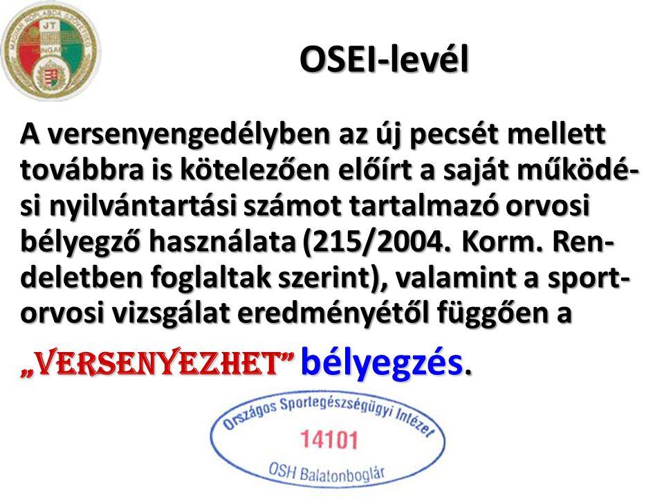 OSEI-levél
