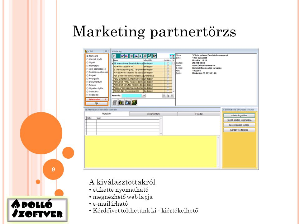 Marketing partnertörzs