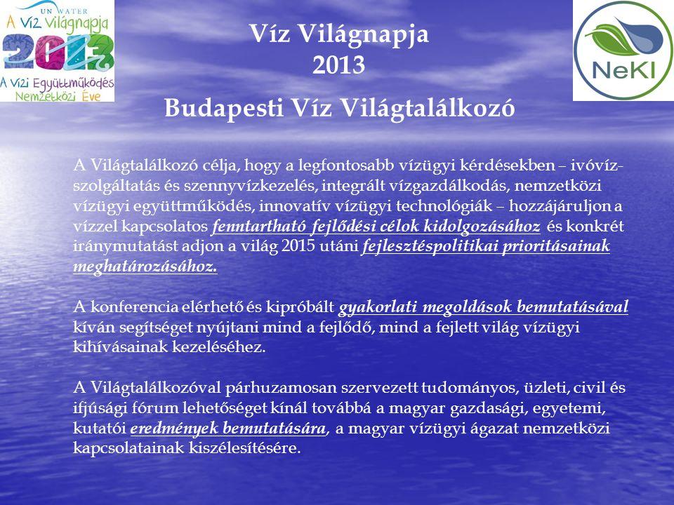 Budapesti Víz Világtalálkozó