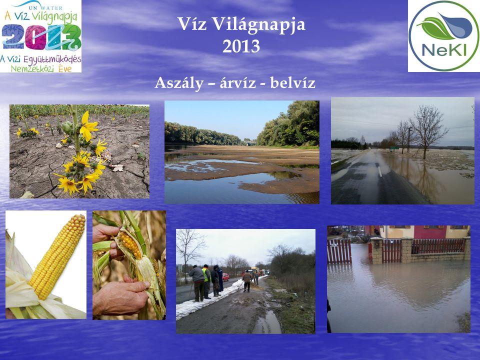 Víz Világnapja 2013 Aszály – árvíz - belvíz 6
