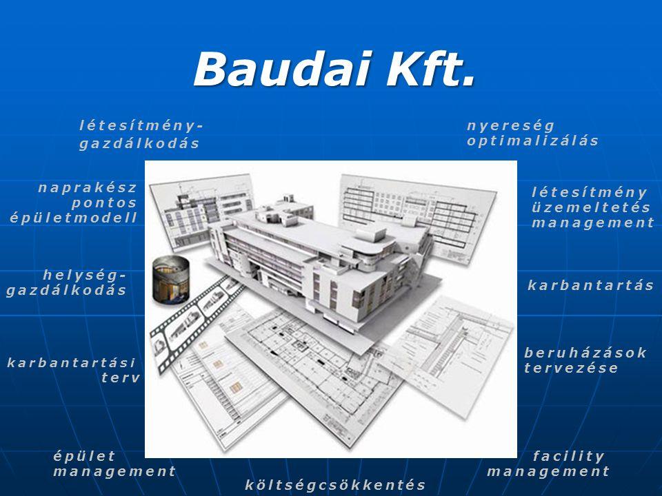 Baudai Kft. létesítmény- gazdálkodás nyereség optimalizálás naprakész
