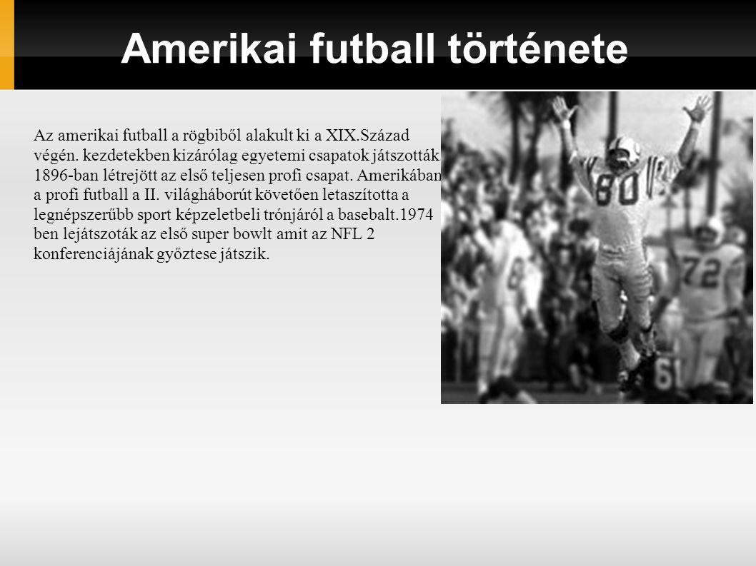 Amerikai futball története