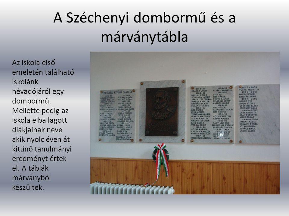 A Széchenyi dombormű és a márványtábla