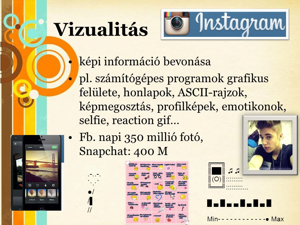 Vizualitás képi információ bevonása