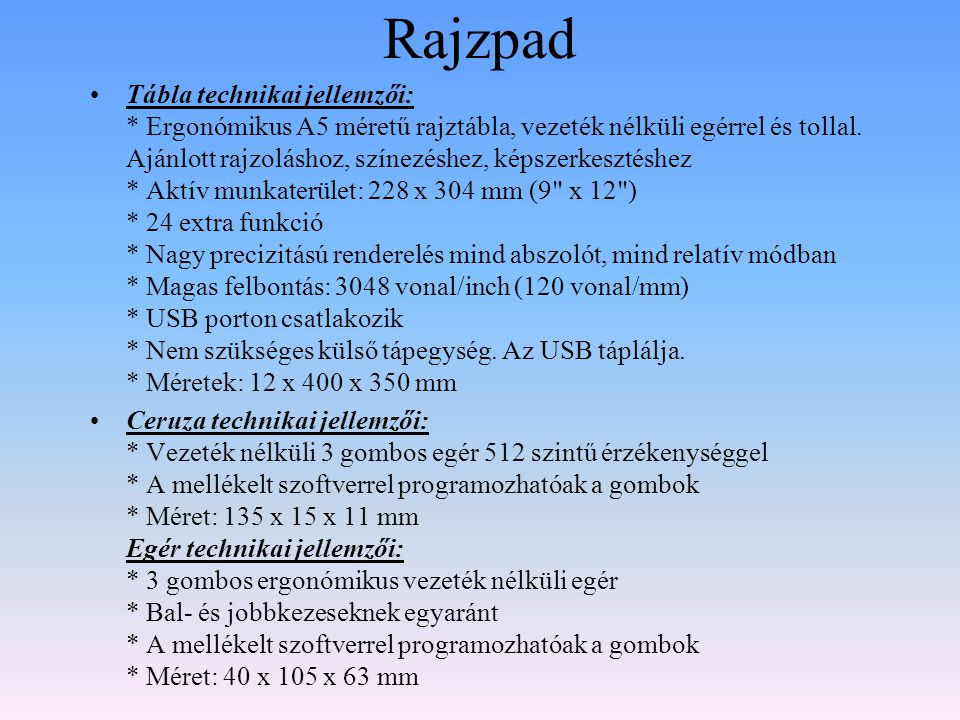Rajzpad