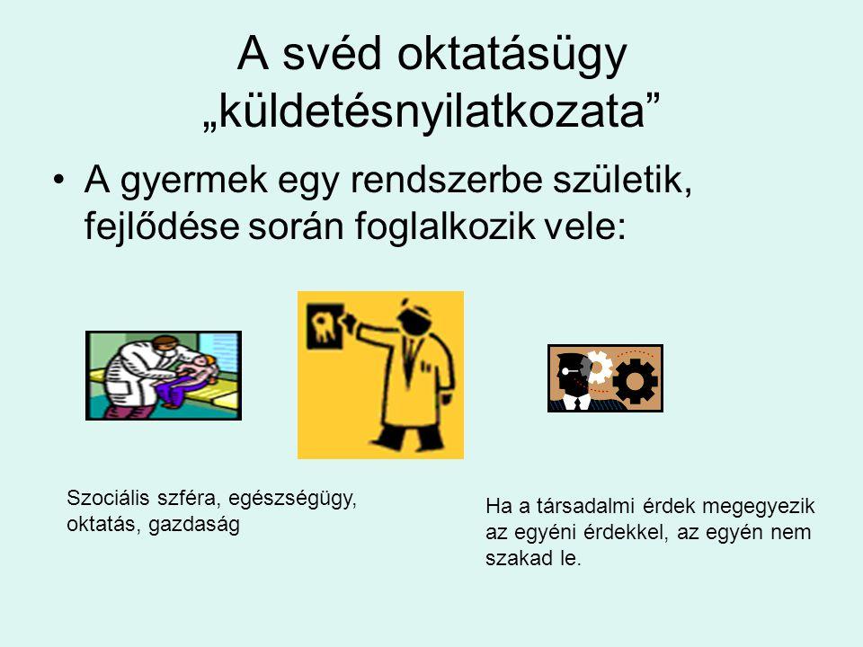 """A svéd oktatásügy """"küldetésnyilatkozata"""