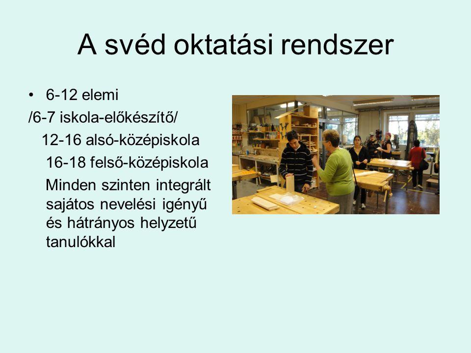 A svéd oktatási rendszer