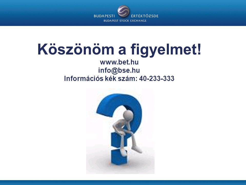 Információs kék szám: 40-233-333