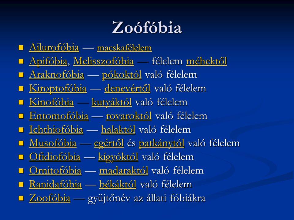 Zoófóbia Ailurofóbia — macskafélelem