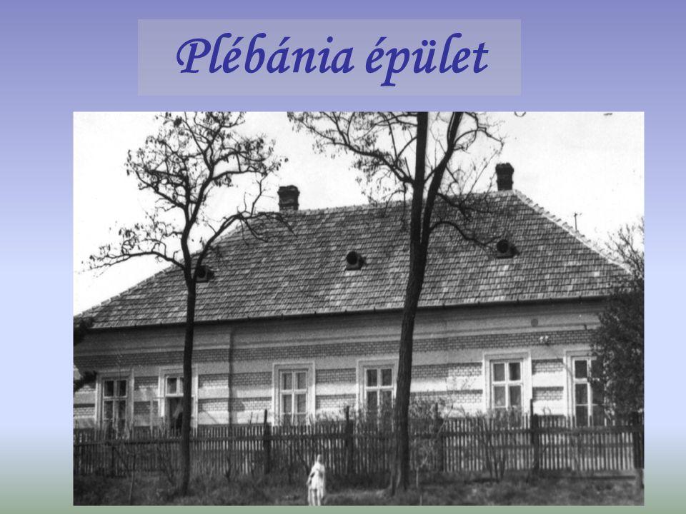 Plébánia épület