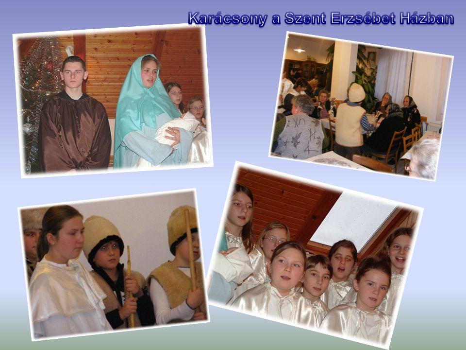 Karácsony a Szent Erzsébet Házban