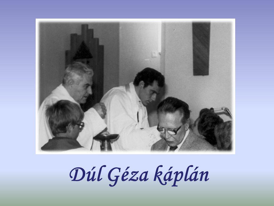 Dúl Géza káplán