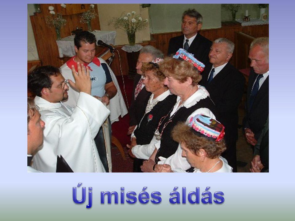 Új misés áldás