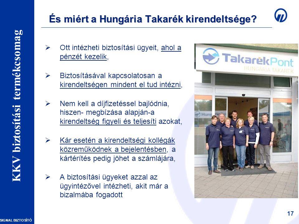 És miért a Hungária Takarék kirendeltsége