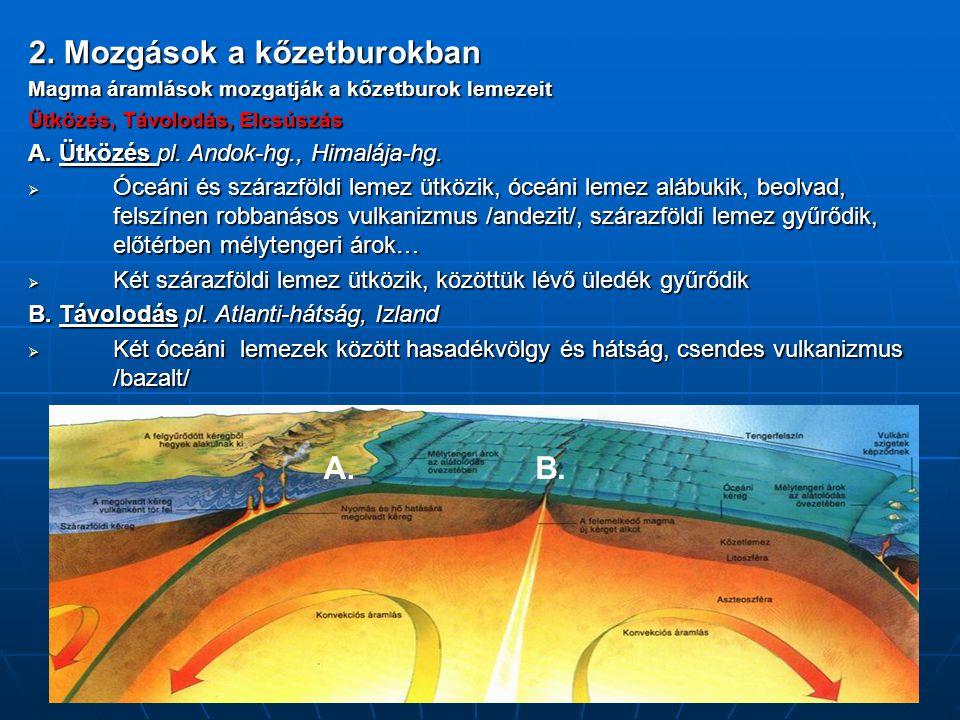 2. Mozgások a kőzetburokban